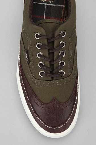 Vans x Barbour Era Brogue Sneaker - Urban Outfitters